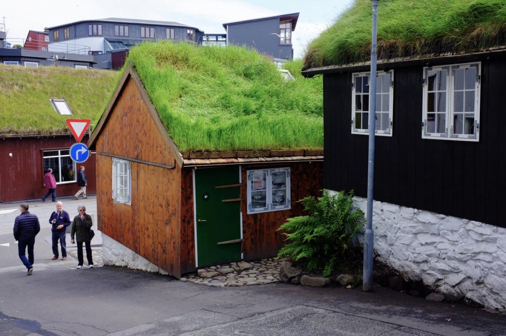 Exterior rear of Mikkeller, Tórshavn