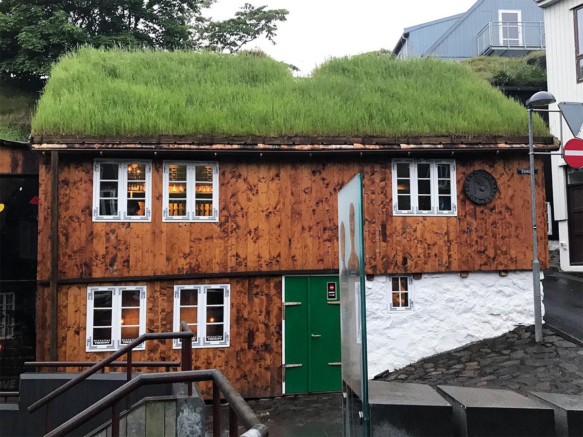 Exterior front of Mikkeller, Tórshavn