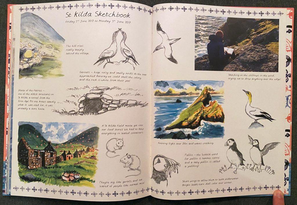 St. Kilda sketchbook from Child of St. Kilda