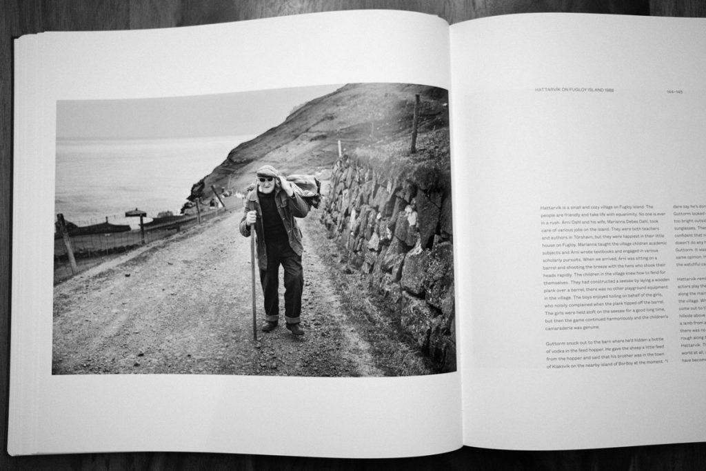 Photo of a man in the Faroe Islands, from Faces of the North