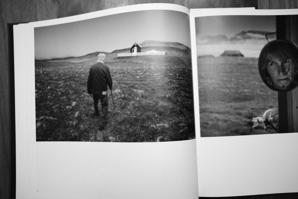 Photo of a man in Iceland, from Faces of the North
