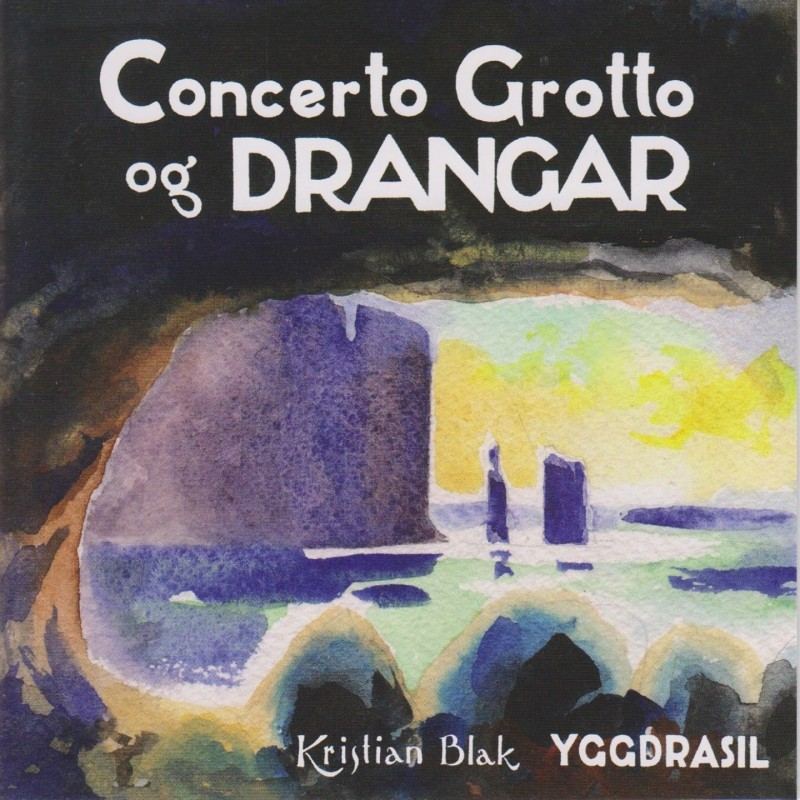 Cover of the Concerto Grotto album, the first sea cave concert in the Faroe Islands.